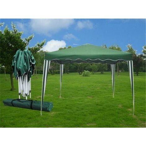 Cenador Jardin 3X3 Mt Plegable Natuur Metal Verde Nt68458