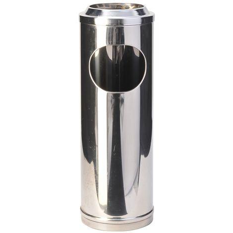 Cendrier-corbeille   acier inoxydable   Brillant   11 litres   200x600   Mini Por   1 pièce   medial