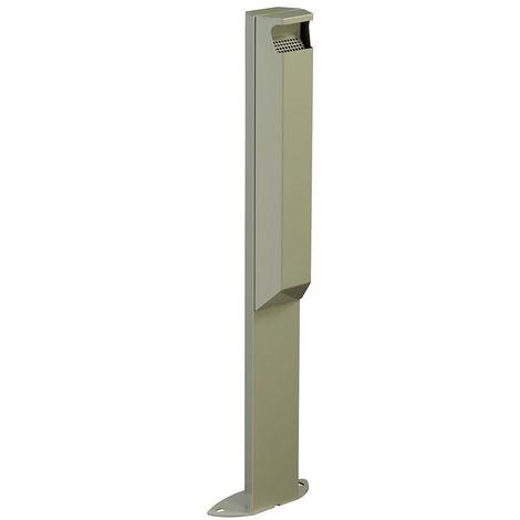 Cendrier sur pied - 3 l - sans serrure - Gris ciment - ARKEA | Rossignol - Ciment