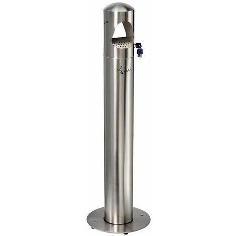 Cendrier sur pied | acier inoxydable | Brossé | 4 litres | 290x1080 | Birkin | 1 pièce | medial