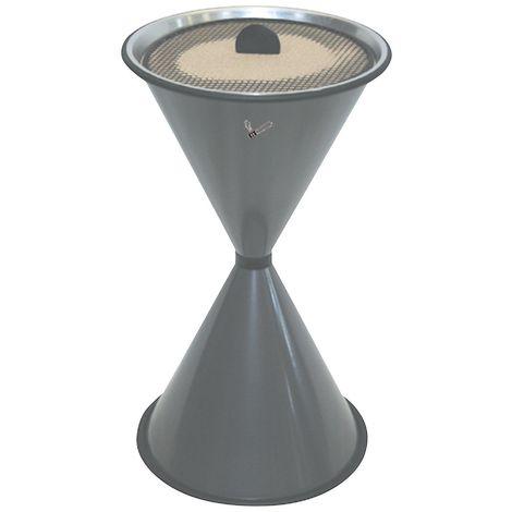 Cendrier sur pied, DIABOLO LIGHT gris graphite