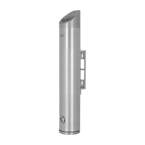 Cendrier tubulaire Totem - Mural - 2,4L - Aluminium