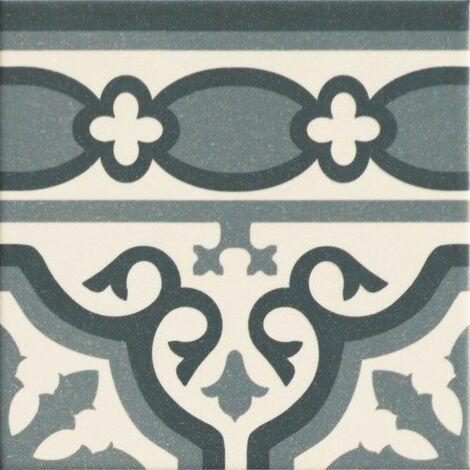 "main image of ""Cenefa Florentine blue 20x20 (caja 1 m²)"""