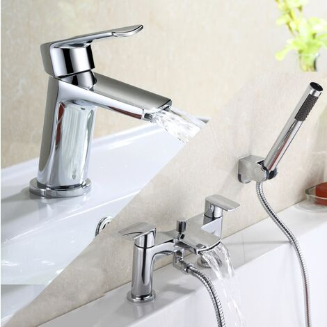 Centa Basin Mixer & Bath Shower Mixer Tap