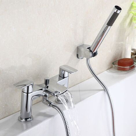 Centa Waterfall Bath Shower Mixer with Shower Kit