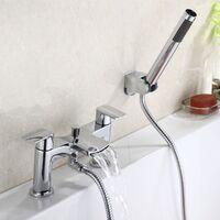 Centa Waterfall Bath Shower Mixer with Shower Kit