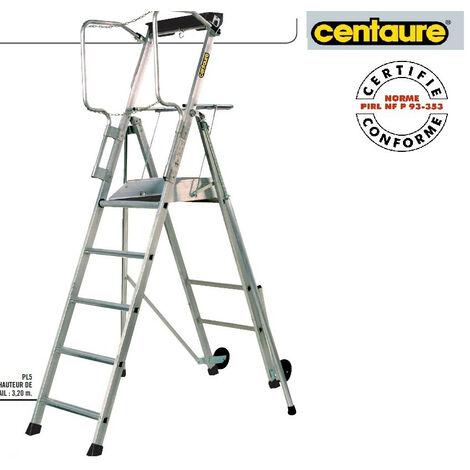 Centaure - Plateforme Individuelle Roulante à haut. Fixe avec étayages h:3m2 - PL5