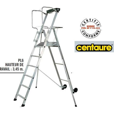 Centaure - Plateforme Individuelle Roulante à haut. Fixe avec étayages h:3m45 - PL6