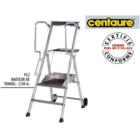 Centaure - Plateforme Individuelle Roulante à hauteur Fixe H:2m50 - PL2