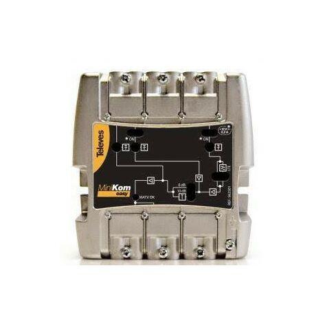 Central amplificadora LTE Minikom MATV Televes 562501