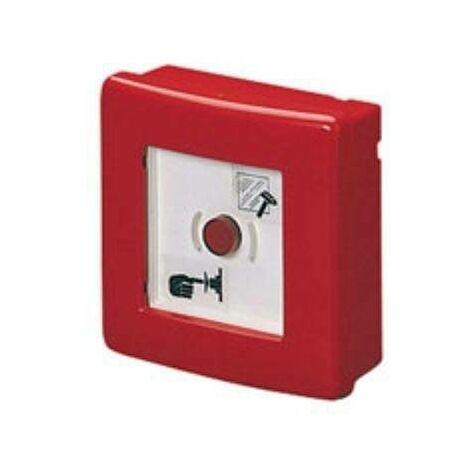 Central d'urgence 120x120x50 avec bouton gw42201