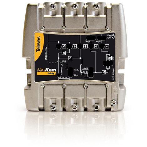 Central TV 4E/1S FM-VHF-UHF-FI MiniKom 4G-LTE