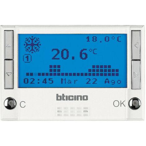 Centrale 4 zone Axolute pour gestion température MyHOME BUS white (HD4695)