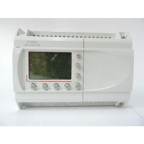 Centrale d'alarme technique modulaire 15 directions 7 modules avec alim 230V LEGRAND 004276