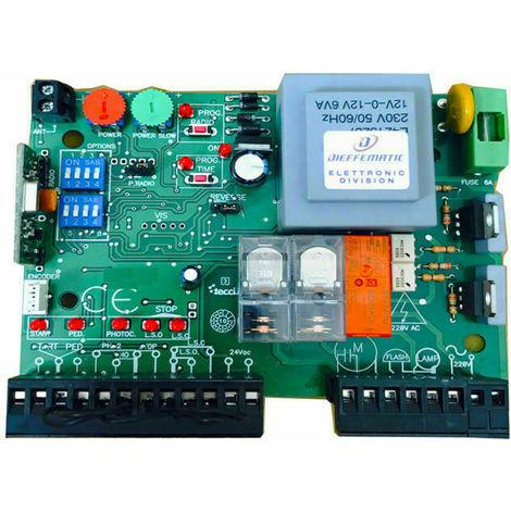 Schema Elettrico Motore Bft Scorrevole : Centrale scheda per cancello scorrevole compatibile con tutti