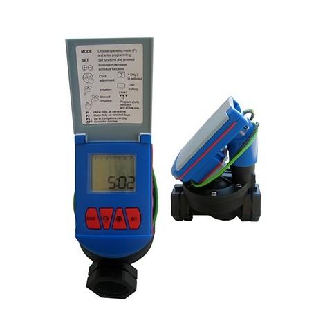 Timer per Irrigazione Elettronico A Due Uscite con 2 Elettrovalvole Regolatore di Irrigazione per Giardino