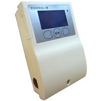 Centralina elettronica digitale EcoSol completa di sonde per impianti solari termici