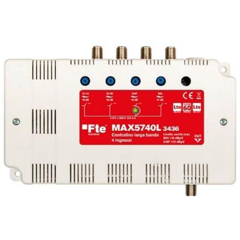 Centralita FTE 4 entradas BIII/IV/V/UHF MAX5740L3436