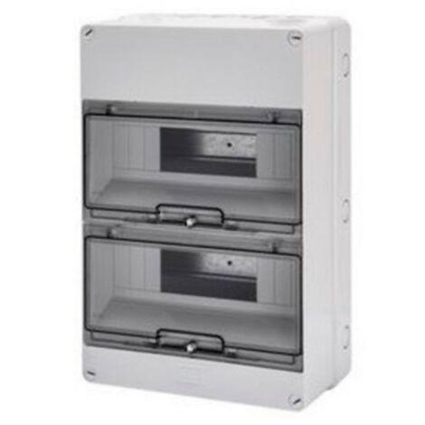 Centralita Gewiss al aire libre 24 módulos IP55 GW40007