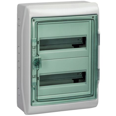 Centralita Schneider pared de 24 módulos IP65 Puerta transparente 10342