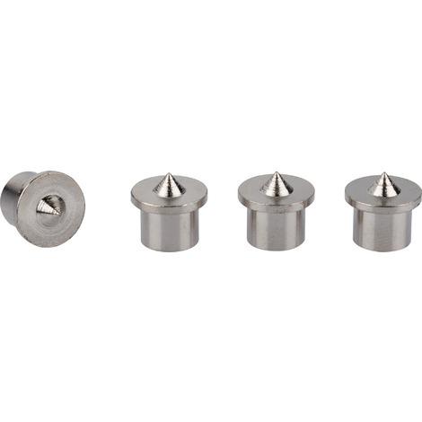 Centreur pour assemblage SCID - Diamètre 10 mm - Vendu par 4 - Noir