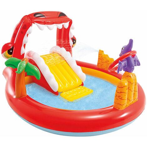Centro de Juegos acuático Happy Dino (Intex 57163np)