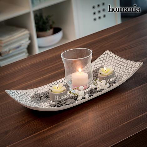 Centro de Mesa con Portavelas Harmony Homania