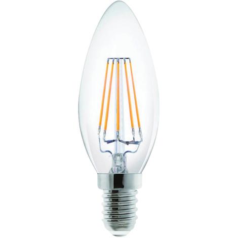 Century Bombilla de vela LED Incanto, 2W tipo E14, luz blanca cálida, temperatura de color 2700Kº