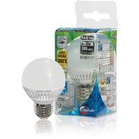 Century Bombilla LED con forma de Globo Micro de 5 W, de cerámica, casquillo E14, 396 lumens, 3000K