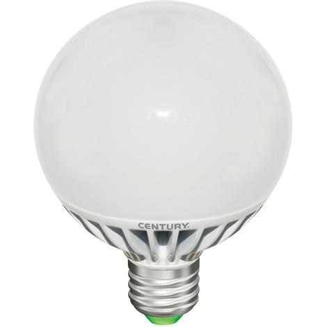 Century Bombilla LED Globo de 18W, base E27, 1052 lumens, 3000K de temperatura