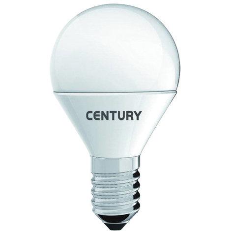 Century Bombilla MicroLED globo de cerámica, 4W, casquillo E14, 3000K, duración media de 30.000 horas