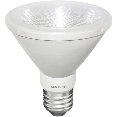 Century Bombilla Superlight PAR30, 10W, temperatura 3000ºK, 820 lumens, tipo E27, ahorra un 75% de energía