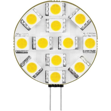 Century Cápsula LED, 2 W, base G4, 165 lumens, color 3000ºK, duración media 25.000 horas