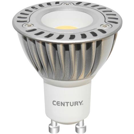 Century Spot maxi LED 5 W GU10, dura hasta 30.000 horas, ahorra un 90% de consumo