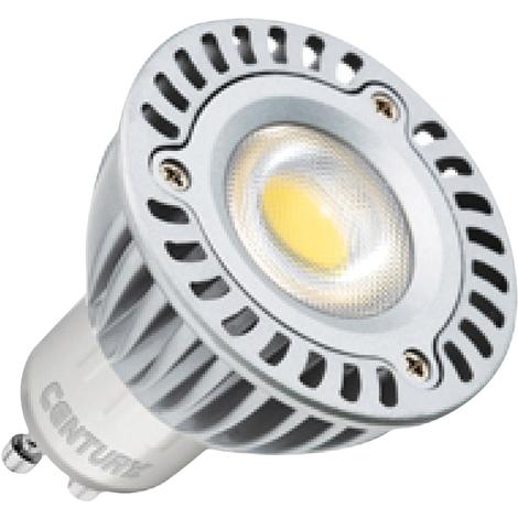 Century Spot maxi LED 5 W GU10, proporciona hasta 30.000 horas de luz, ahorro energético del 90%