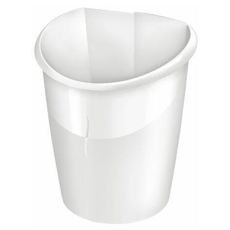 CEP Ellypse Strong Waste Tub 15L White - CEP20020