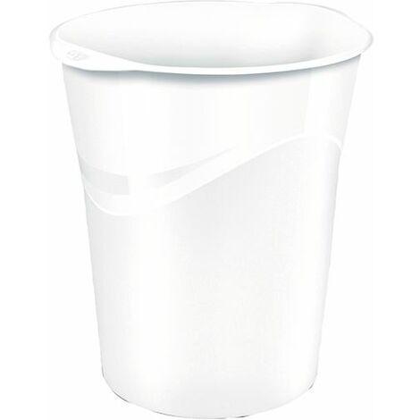 CEP Pro Gloss White Waste Bin 280G WHITE - CEP80002