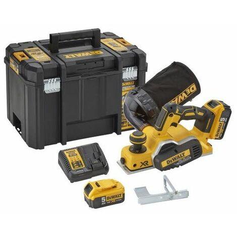 Cepillo a batería DeWalt DCP580P2