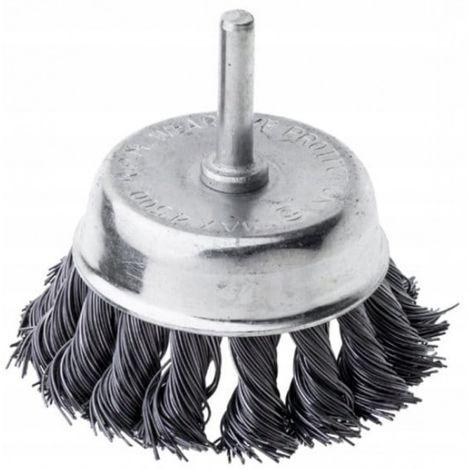 Cepillo a tope para taladro de 75 mm _0