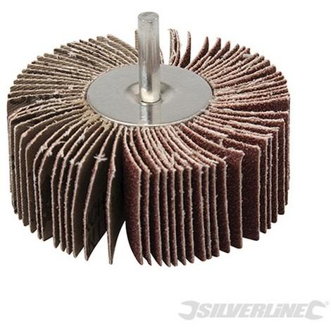 Cepillo abrasivo laminado (80 mm - Grano 80)