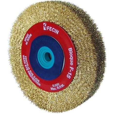 Cepillo Circular Latonado - FECIN - 152005CGME - 200X0,30MM