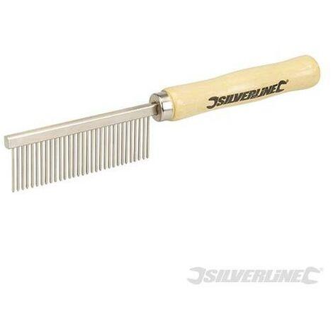 Cepillo de metálico para limpieza de brochas de pintura, 175 mm