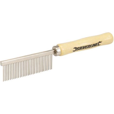 Cepillo de metálico para limpieza de brochas de pintura 175 mm - NEOFERR