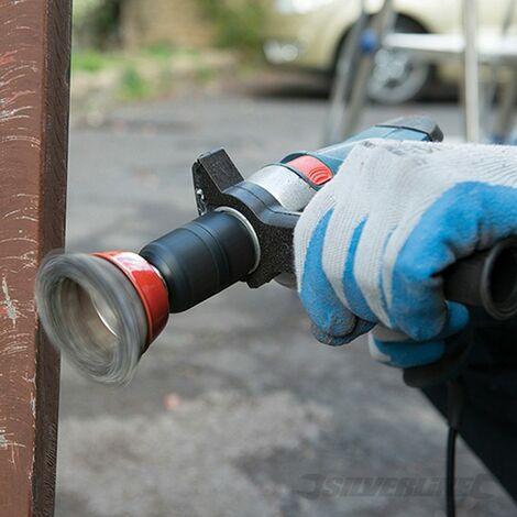 Cepillo de vaso de acero trenzado (75 mm)