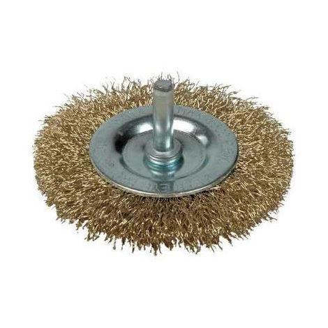 Cepillo Hobby Circular Con Espiga 100 Mm Fac100 - NEOFERR