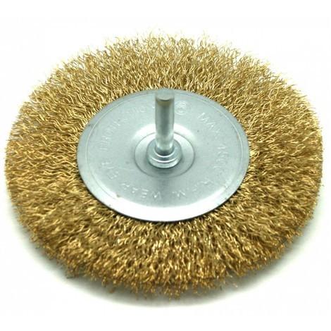 Cepillo ind circ taladro 100x0,3 mm met nivel