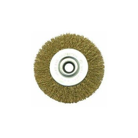 Cepillo Industrial Circular Amoladora 100X0,3 Mm Metal Nivel
