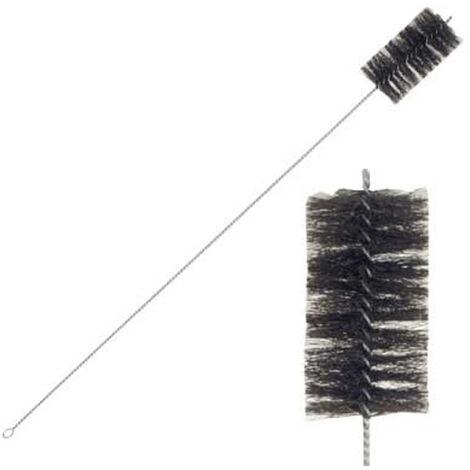 Cepillo limpiatubos chimenea 122mm