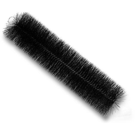 Cepillo negro para estanques Cepillo de filtro 50cm x Ø15cm para limpieza estanques peces koi