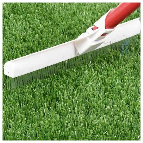 Cepillo para peinar césped artificial y alfombras